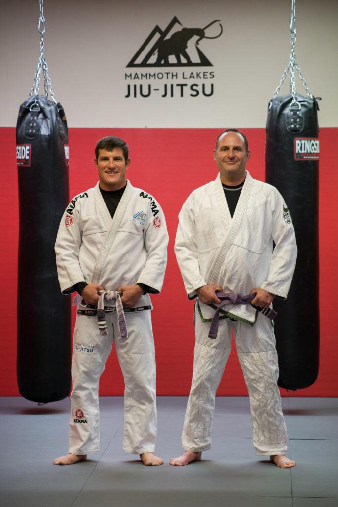Eric Leach Bill Libling Mammoth Lakes Jiu Jitsu